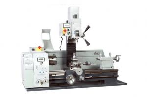 China Multi Function Mill Drill Machine Combo Lathe Spindle Taper MT4 With 50 - 3000 RPM on sale