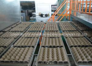 China Recycling Rotary Pulp Molding Machine , Paper Egg Tray Making Machine on sale