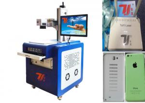 China 3W Plastic UV Laser Marking Machine , 355nm Laser Printing Machine on sale