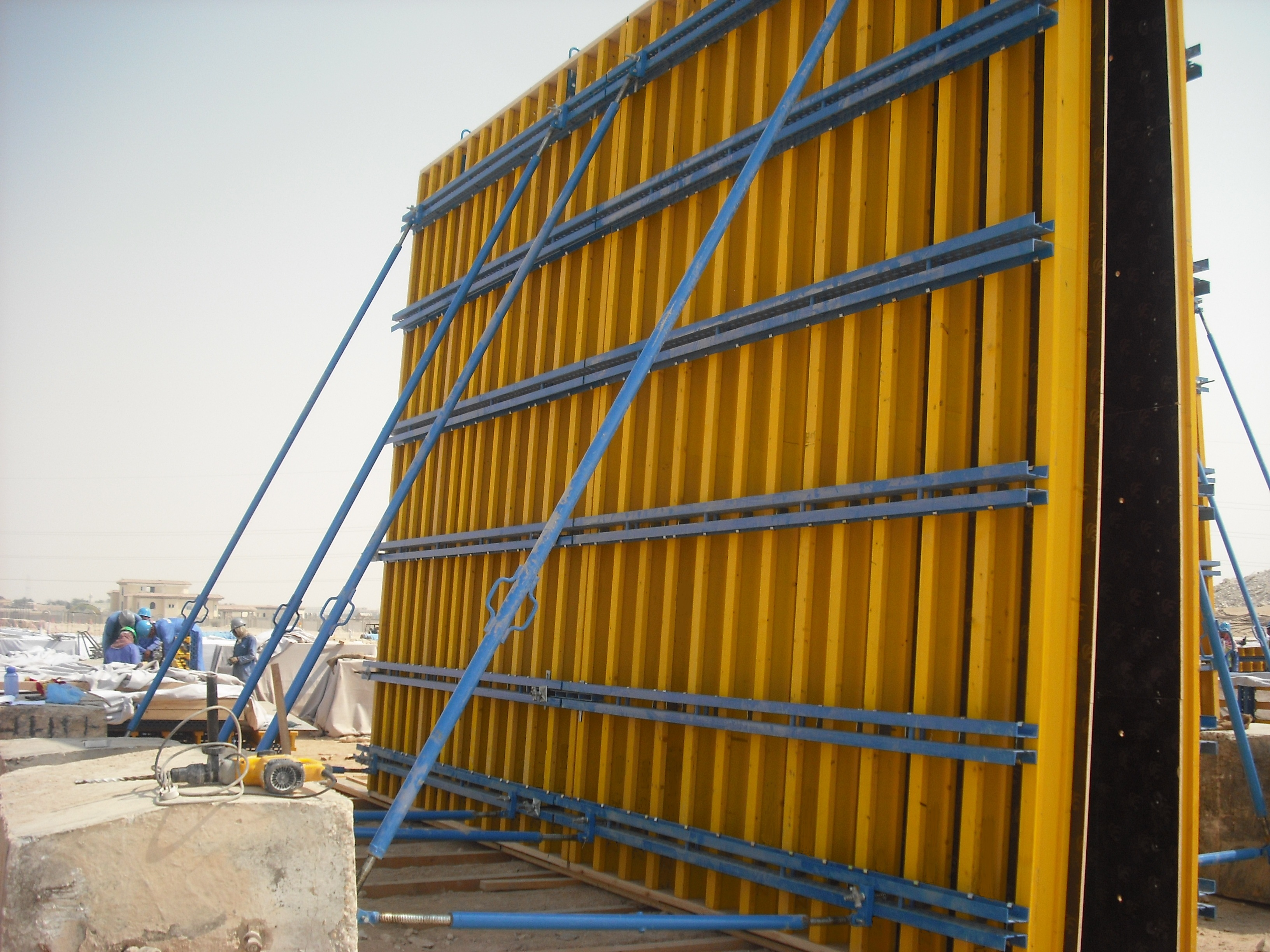 H20 Timber Beam Formwork / Concrete Wall Formwork For Core
