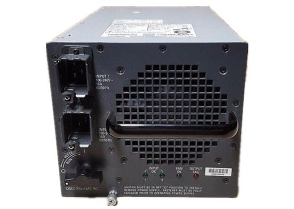 2 AC Inputs Cisco Catalyst 6500 Power Supply , 6000w Power