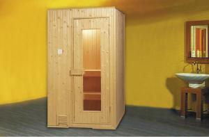 Monalisa S1515 Finland sauna room Finnish white pine wood sauna