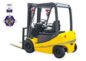 China AC Powered Explosion Proof Forklift 1980mm Turning Radius With Anti - Friction Brake on sale