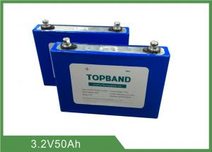 Quality 3.2V 50Ah Rechargeable LiFePO4 Battery 2 Years Warranty Low Self - Discharge for sale