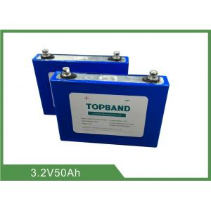 China 3.2V 50Ah Rechargeable LiFePO4 Battery 2 Years Warranty and Low Self - Discharge on sale