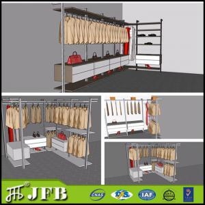 Quality Aluminum Profile For Diy Installation Walk In Closet With Shoes  Rack For Sale