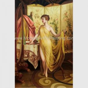 China Classic Nude Female Oil Painting Reproduction Hand Painted People Oil Painting on sale