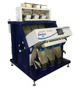 China 3chutes rice color sorter, suitable for small and middle capacity rice mills, CCD Color sorter for rice on sale
