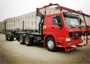 China HOWO 6*6 Truck Heavy Duty Semi Trailers for Log Carrier Truck Log Transport on sale