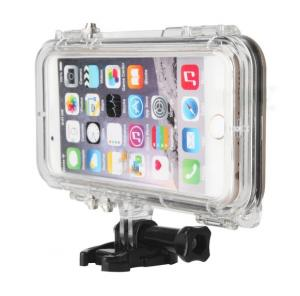 China Iphone 6 IP 68 Water Resistant Phone Case Shockproof  With Wide Angle Lens on sale