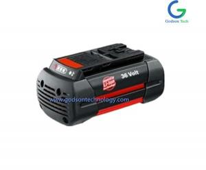 China Bosch-36V Li-ion Battery Replacement  Power Tool Battery Cordless Tool Battery Black Color on sale