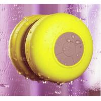 .New hot sale suck type bathroom vatop waterproof bluetooth speaker, fashion color bluetooth waterproof speaker