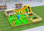 Interactive Sport Kids Inflatable Playground Inflatable Children'S Playground Equipment