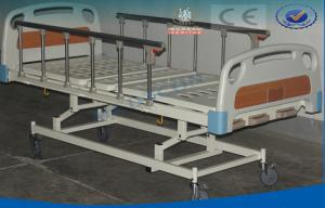China Manual Hospital Bed For Patients Emergency , Extra Low General Ward Bed on sale