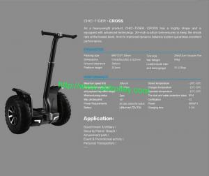 China 20 inch big wheel evo scooter self balance Segway on sale