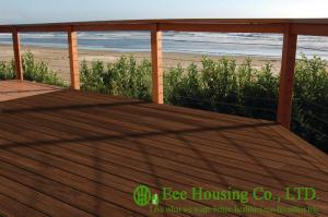 China Carbonized Color Outdoor Bamboo Flooring used for outdoor area, Bamboo Decking on sale