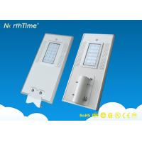 Outdoor Automatic Solar Powered Street Lights with PV Panel Rust Proof