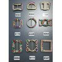 China Colorful Antique Customized Plastic Shoe Buckles For Gifts Shoe , Eco - Friendly on sale