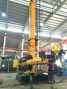 China Seam Tracker Column And Boom Manipulator ,  Moving Rotation Circular Welding Machine supplier