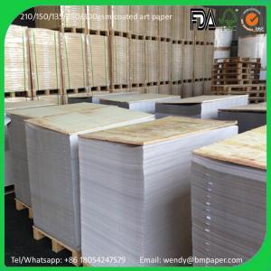 China High Gloss / Semi Gloss Paper C2S Art Paper 80g on sale