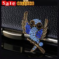 Vintage Retro Owl Crystal Brooch ,Dress брошки Brooch Clothing Accessories Gift Wholesale