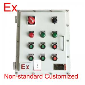 China Chemical Industry Explosion Proof Distribution Box , Low Voltage Flame Proof Panel on sale