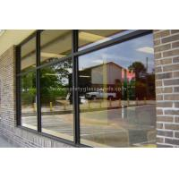 Bullet Proof Etched Insulated Glass Unit 12mm , Window Glass Thermal Insulation
