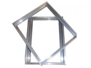 China Customized Anodized Aluminum Frame With Screw Connection / Conner Joint on sale