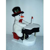Fashion Musical  Snowman Playing the Piano Toddler Electronic Toys  Doll