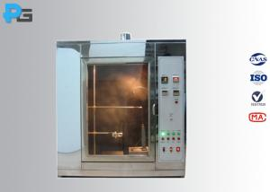 China IEC60695-11-5 Needle Flame Test Apparatus 95% Butane Gas For Ignition Hazard Test on sale