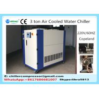 China 5HP 3 Tons Small Air Cooled Water Chiller for Plastic Injection Molding Machine on sale
