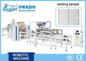 China CNC Spot Welding Machine ,  Oven Rack Grid Wire Mesh Automatic DC Welder on sale