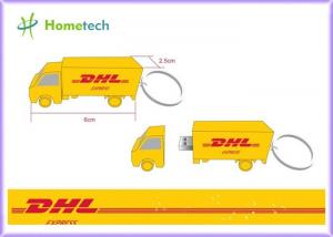 China Cartoon DHL Truck Customized USB Flash Drive with High Speed USB memory 4GB / 8GB on sale