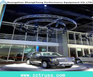 China Exhibition Aluminum Lighting Horizontal Circle Truss For Sale on sale