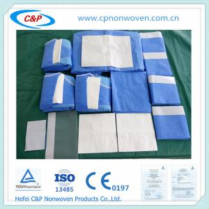 Quality Craniotomy surgical drape  sets ,leadiing manufacturer for sale