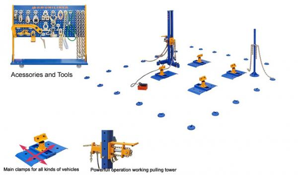 Auto Body Collision Repair Frame Machine Floor System for sale ...