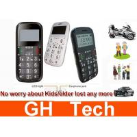Kids / Senior People Phone GPS Tracker Black / White With Real Time Tracking