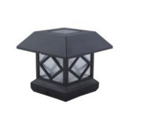 China Garden Decorative Solar Powered Post Cap Lights Quick Installation 150 Lumens on sale