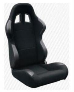 China High Performance Black Racing Seat Car Seat With Fabric + Carbon Look Material on sale