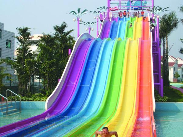 Colourful Rainbow Water Slide For Sale Rainbow Water