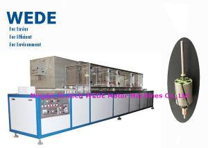China Electrostatic powder coating equipment for the DC motor armature and stator with powder recycling system on sale