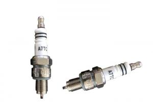 China Copper Core Electrode Motor Motorcycle Spark Plugs , Motorbike Spark Plugs For A7TC on sale
