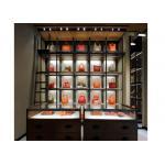 Сбережения Кабинецспасе дисплея стиля моды 5 слоев установленные стеной для дисплея сумок