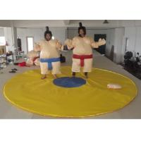 China Outdoor Interactive Inflatable Sumo Suits High Durability PVC Tarpaulin Tear Proof on sale