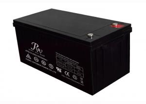China No Leaking 12V 220AH Lead Acid Battery For Solar Storage / Wind Power on sale
