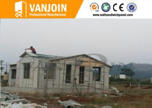 China Waterproof decorative Sandwich Wall Panels building thermal insulation , CE approved on sale