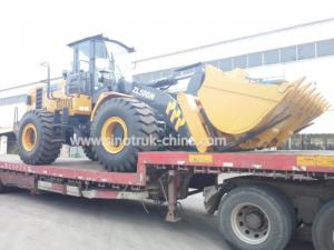 China Model WD10G220E21 Heavy Construction Machinery , XCMG Wheel Loader Machine on sale