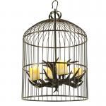 Iluminación de la lámpara de la jaula de la luz del comedor de la asta para el hogar interior (WH-AC-28)