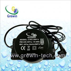China Waterproof Outdoor Toroidal Transformer for Swimming and Lighting on sale