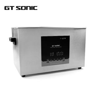 China Degas Ultrasonic Cleaning Machine Stainless Steel Dual Power Digital Electric Fuel on sale